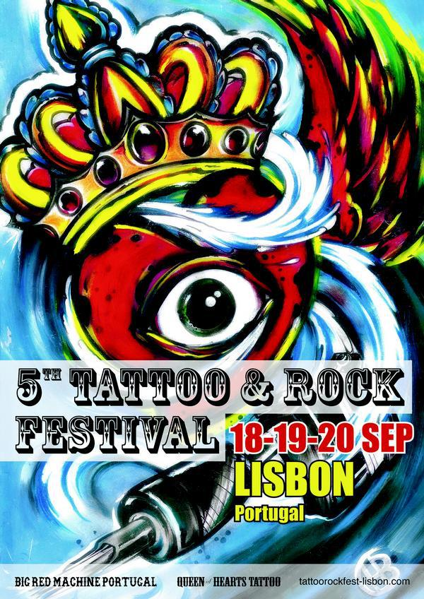 5TH TATTOO & ROCK FESTIVAL LISBON