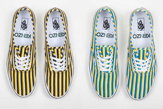 KENZO X VANS FALL/WINTER 2012 FOOTWEAR