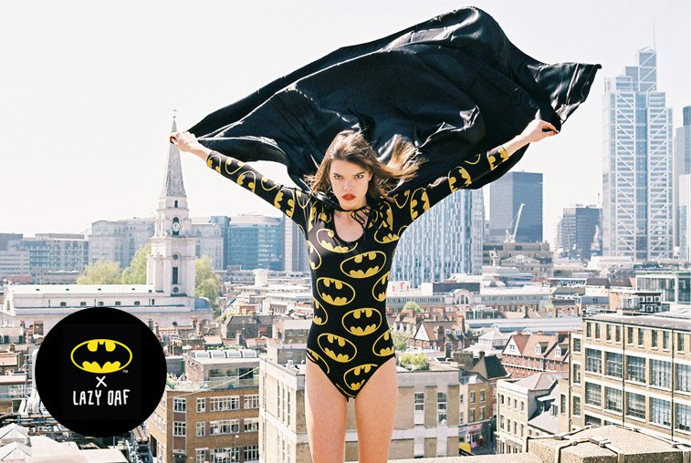 LAZY OAF X BATMAN SPRING/SUMMER 2012 COLLECTION